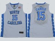 Mens Ncaa Nba North Carolina #15 Carter Swingmann White Jersey