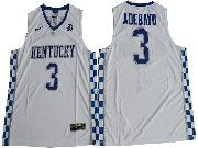 Mens Ncaa Nba Kentucky Wildcats #3 Edrice Adebayo White College Basketball Jersey