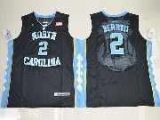 Mens Ncaa Nba North Carolina Tar Heels #2 Joel Berry Ii Black College Basketball Jersey