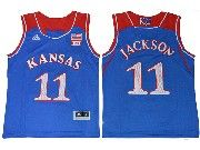Youth Ncaa Nba Kansas Jayhawks #11 Josh Jackson Blue Jersey