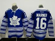 Mens Reebok Nhl Toronto Maple Leafs #16 Mitch Marner Blue Winter Heritage Classic Ice Hockey Jersey