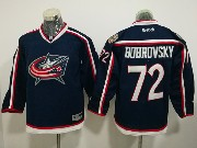 Youth Reebok Nhl Columbus Blue Jackets #72 Sergei Bobrovsky Dark Blue Home Premier Jersey