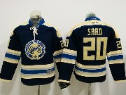 Youth Reebok Nhl Columbus Blue Jackets #20 Brandon Saad Blue Alternate Premier Jersey