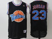 Mens Nba Space Jam Tune Squad #23 Michael Jordan Black Jersey