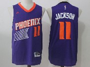 Mens Nba Phoenix Suns #11 Josh Jackson Purple Road Jersey