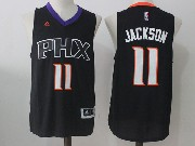 Mens Nba Phoenix Suns #11 Josh Jackson Black Alternate Jersey