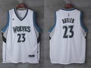 Mens Nba Minnesota Timberwolves #23 Jimmy Butler White Home Jersey