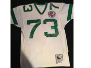 Mens Nfl New York Jets Custom Made White Throwbacks Jersey