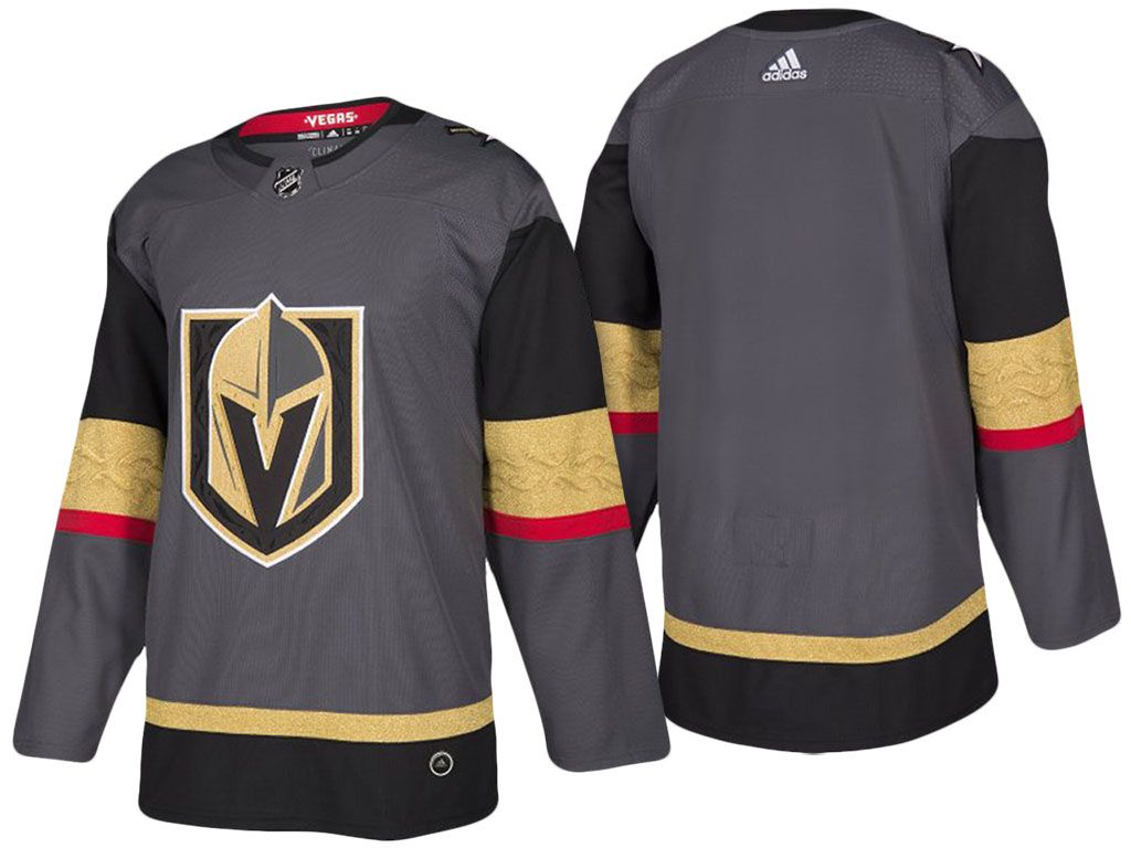 b94e75b07 Mens Women Youth Vegas Golden Knights Custom Made Gray Authentic Player  Adidas Jersey
