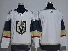 Mens Adidas Vegas Golden Knights Blank White Hockey Jersey