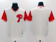 Mens Majestic Philadelphia Phillies Blank White 2017 Players Weekend Jersey