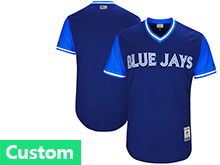 Mens Mlb Toronto Blue Jays ( Custom Made) Majestic Royal 2017 Players Weekend Authentic Jersey