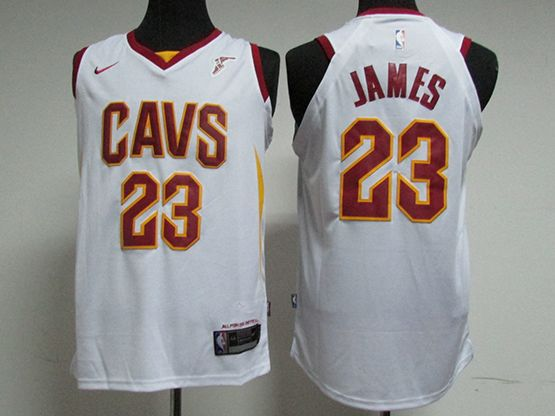 newest 0ef9a 040da get nba jerseys cleveland cavaliers 23 lebron james white ...