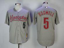 Mens Majestic Pittsburgh Pirates #5 Jeff Bagwell Gray Turn Back Jersey