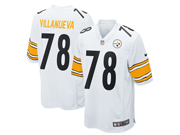 Mens Nfl Pittsburgh Steelers #78 Alejandro Villanueva White Game Jersey