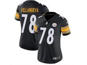 Women Youth Nfl Pittsburgh Steelers #78 Alejandro Villanueva Black Vapor Untouchable Limited Jersey