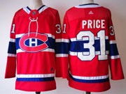 Mens Montreal Canadiens #31 Carey Price Red Home Premier Adidas Jersey