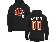 Mens Nfl Cleveland Browns Custom Made Black Hoodie
