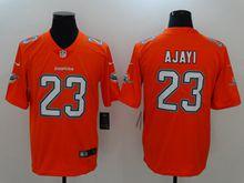 Mens Nfl Miami Dolphins #23 Ajayi Orange Vapor Untouchable Color Rush Limited Player Jersey