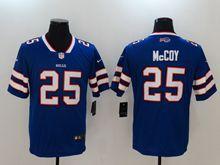 Mens Buffalo Bills #25 Lesean Mccoy Blue Vapor Untouchable Limited Jersey