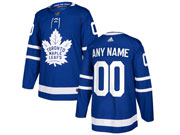 Mens Women Youth Nhl Toronto Maple Leafs Custom Made Royal Blue Home Current Player Adidas Jersey