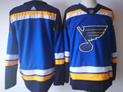 Mens St.louis Blues Custom Made Home Premier Blue Adidas Jersey