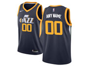 Mens Nba Utah Jazz Custom Made Dark Blue Icon Edition Nike Jersey