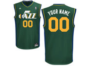 Mens Nba Utah Jazz Custom Made Green Alternate Adidas Jersey