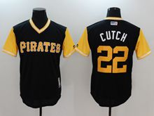 Mens Majestic Mlb Pittsburgh Pirates #22 Andrew Mccutchen (cutch) Black Majestic 2017 Players Weekend Authentic Jersey