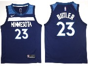 Mens Nba Minnesota Timberwolves #23 Jimmy Butler Blue Nike Jersey