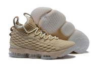 Mens Nike Lebron 15 Running Shoes Khaki Colour