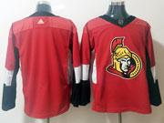 Mens Ottawa Senators Blank Red Adidas Jersey