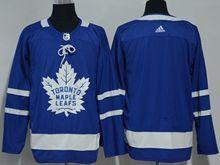 Mens Nhl Toronto Maple Leafs Blank Blue Hockey Adidas Jersey
