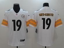 Mens Nfl Pittsburgh Steelers #19 Smith-schuster White Vapor Untouchable Limited Jersey