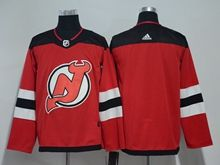 Mens Nhl New Jersey Devils Blank Red Adidas Jersey