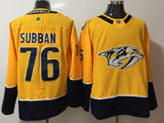 Mens Women Youth Nhl Nashville Predators #76 P. K. Subban Gold Adidas Jersey