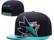 Mens Nhl San Jose Sharks Black Caps