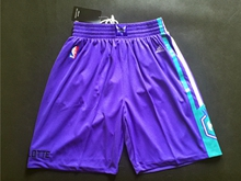 Mens Nba New Orleans Hornets Purple Shorts