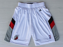 Mens Nba Portland Trail Blazers White Shorts