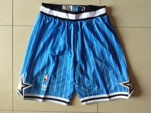 Mens Nba Orlando Magic Blue Shorts