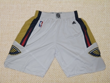 Mens Nba New Orleans Pelicans White Shorts