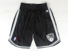 Mens Nba Brooklyn Nets Black New Shorts