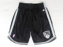 Mens Nba Brooklyn Nets Black New Shorts