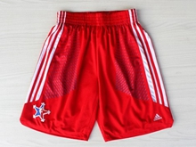 Mens Nba 2014 All Star Red Shorts
