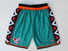Mens Nba 96 All Star Green Shorts