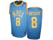 Mens Nba Los Angeles Lakers (custom Made) Light Blue Mpls Jersey