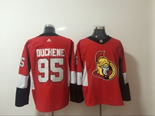 Mens Nhl Ottawa Senators #95 Duchene Red Adidas Jersey