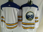Mens Buffalo Sabres Blank 2018 Winter Classic White Adidas Jersey