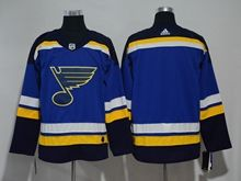 Mens Nhl St.louis Blues Blank Blue Adidas Jersey