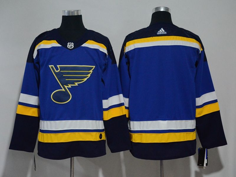 Mens Women Youth Nhl St.louis Blues Custom Made Blue Adidas Jersey